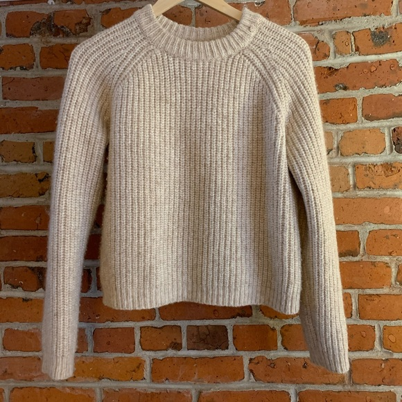 Wilfred Free Beautiful Kit Oatmeal Sweater!